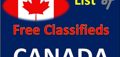 Free list of Canada classifieds