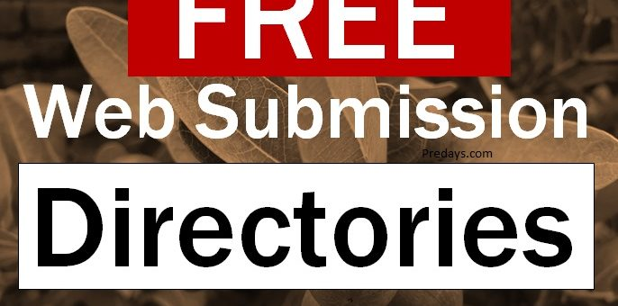 Free Web submission list